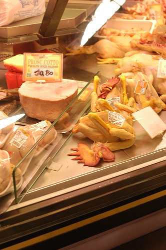 butchers don't try to hide anything in Italy