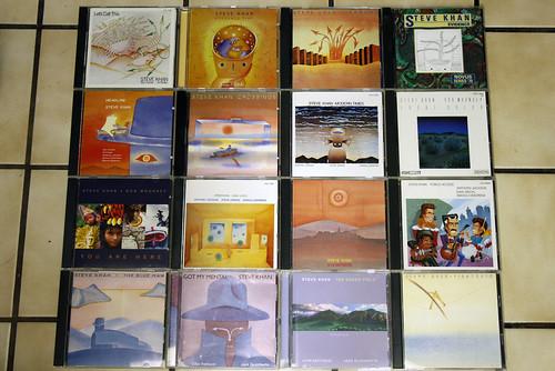 Steve Khan CDs