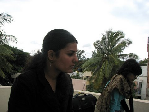 ruhi (left) and pallavi, from delhi and mumbai resp,chosen by channel V