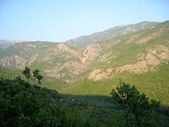 Le parcours du canyon de I Sulleoni