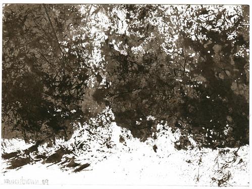 Black Felt Landscape II