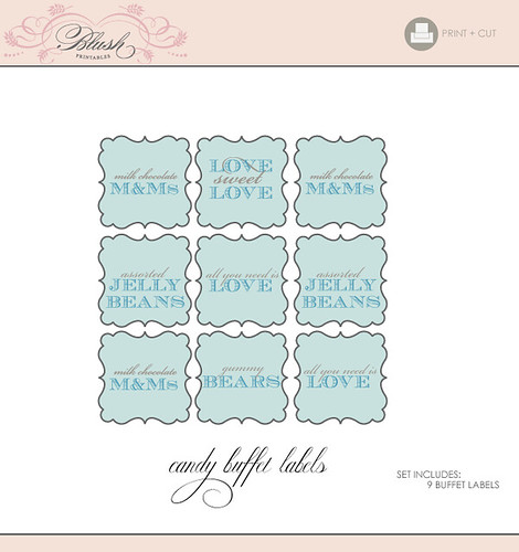 Printable+candy+buffet+labels