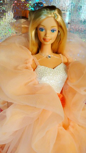 Reproduction of 1985 Peaches N' Cream Barbie