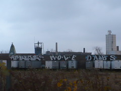 AMUSE, MOLE & DABS (Billy Danze.) Tags: chicago de graffiti mole flf mul abk dabs amuse kwt 2nr