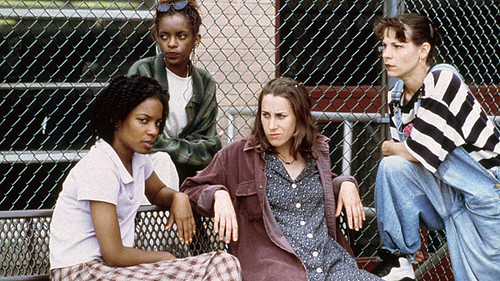 Nikki, Angela, Emma, and Patti in Girls Town