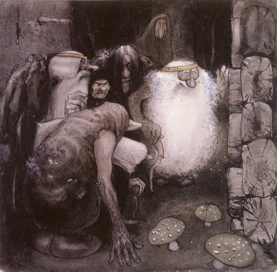 The Four Big Trolls and Little Peter Pastureman: Messengers