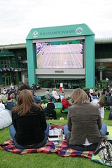 The Big Screen at Wimbledon