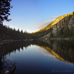 Mirror Lake, Eagle's Nest Wilderness CO (alvin pastrana) Tags: flowers colorado lakes hike gore backpack eaglesnest 2007 natureoutpost alvinpastrana