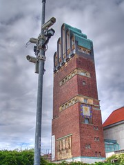 Surveillance (Joachim S. Mller) Tags: camera tower germany deutschland hessen surveillance artnouveau turm 777 darmstadt kamera berwachung jugendstil moo2 mathildenhhe fnffingerturm hochzeitsturm berwachungskamera josephmariaolbrich stadtkrone moocard verwendet piratenpartei 070707 kalenderh lschmich lschmich2 lschmich3 lschmich4 lschmich5 lschmich6 lschmich7 joachimsmller lschmich8 lschmich10 lschmich9