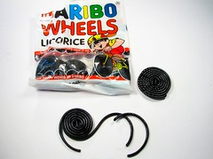 Haribo wheels- black