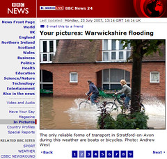 My photo on the BBC News website