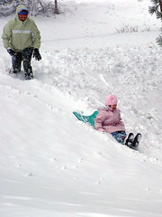 Laurel sledding