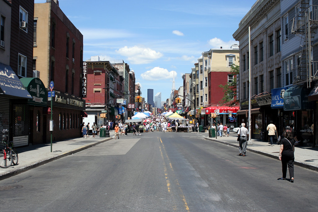 Manhattan Ave street fair