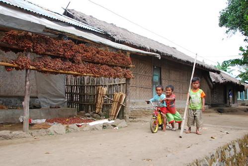 Pass by Sembalun Lawang village