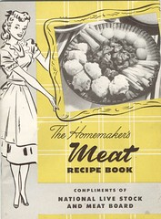 The Homemakers Meat Recipe Book (Cowtools) Tags: vintage cookbook meat ephemera illo booklet recipes
