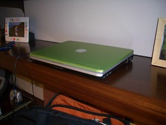 Shiny Green Dell Inspiron 1420