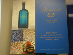 Blue Coat Gin Poster