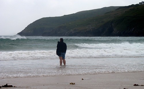 Me on Barley Cove Beach. Southwest Ireland