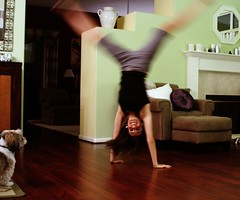 cartwheelin' (day 254) (TeeRish) Tags: dog floor livingroom flip cartwheel hardwood stupidhumantrick 365days flickrgrouproulette 28inexplore