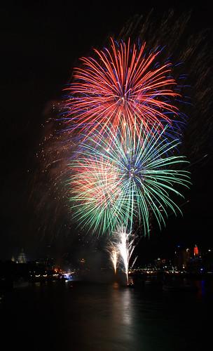 Thames Festival Fireworks 07