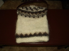 Kathy's Xmas 2007 sweater bag