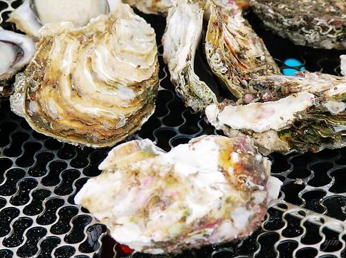 澎湖Penghu-新鮮現烤蛤蠣