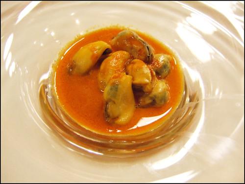 Etxebarri (Axpe) - Mussel in Tomato