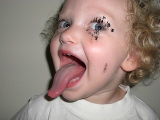moosh tongue with mascara