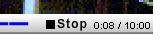 clic en stop
