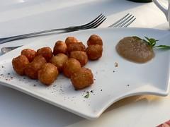 P1010370 (stu_spivack) Tags: food apple beignet cinnamon applebutter spiceoflife