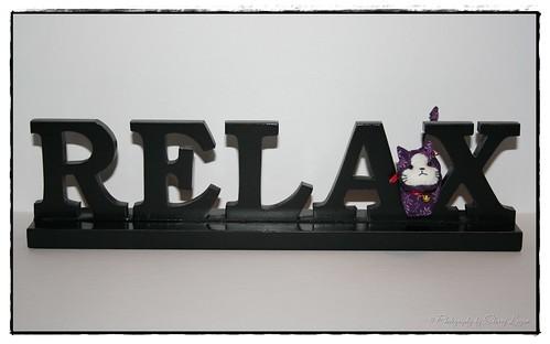 "Suki says ""relax!"""