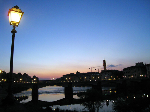 Florence at Sunset