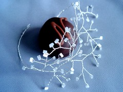 Neuhaus + Hanami (hollyRood) Tags: wire handmade chocolate jewelry coolstuff jewellery bracelet hanami neuhaus mydesign lysm