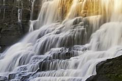 Ithaca Falls (agladshtein) Tags: camera summer sunlight newyork nature water season outdoors waterfall places cny subject centralnewyork ithaca cayugalake fallingwater fallcreekgorge tompkinscounty beautyinnature nikkor18200mmvr nikond300 2010alexandergladshtein