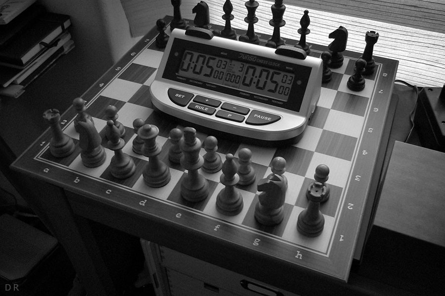 Chessclock New Toy!
