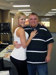Michael and Porn Star Alexis Texas at My Work - by joanna8555