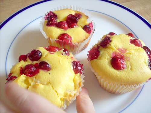 Grain Free Cranberry muffins