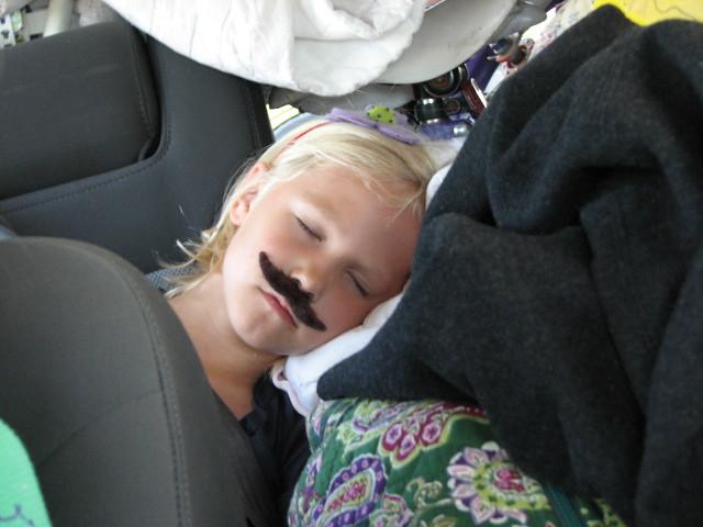 liz asleep