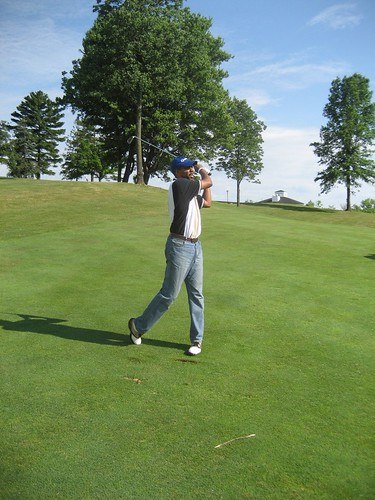 Golfing with Jon