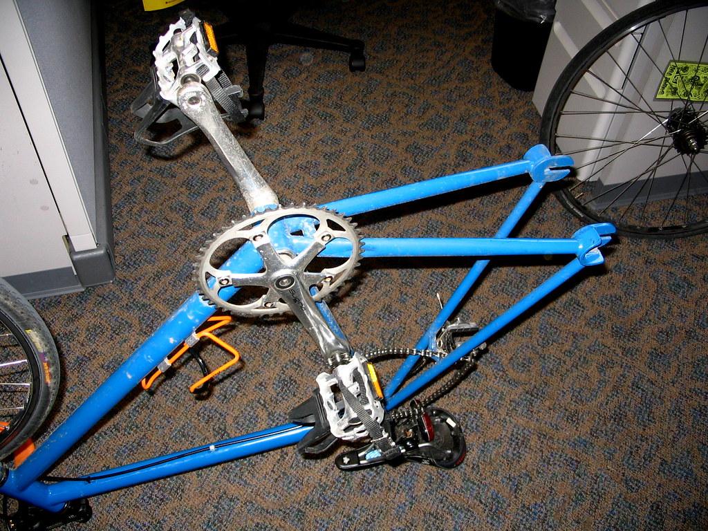 Bicycle flat tire repair bicycle flat ac electric for Ac electric motor repair
