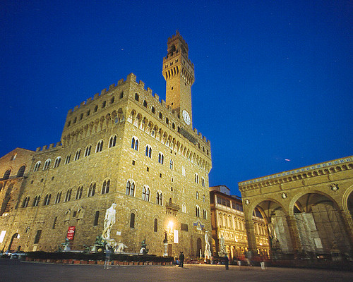 Palazzo Vecchio, Firenza, Italy da 3dphoto.net.