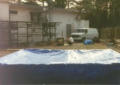 JR DS Spray Painting Transmitter Box (grogley) Tags: film georgia bell labs 1986 att palmetto dons fso loson belllaboratories freespaceoptics