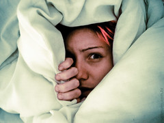 Monday Morning Nightmares (marimoon) Tags: pink night hair bed sleep dream piercing nightmare dye insomnia marimoon