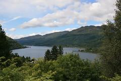 Hillside View over Loch Lomond