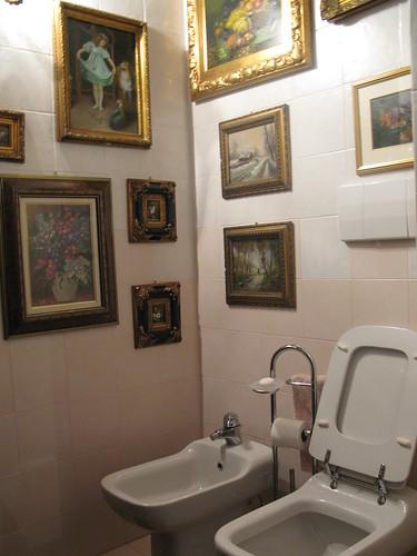 a typical italain bathroom