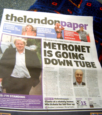 Boris and Metronet