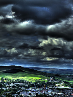 View over Buxton