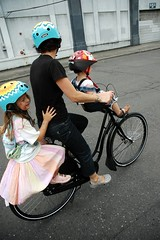The family on a Dutch city bike