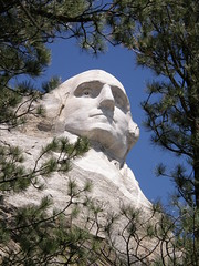 Washington at Mt. Rushmore