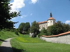 Škofjeloški grad (metjor) Tags: slovenië